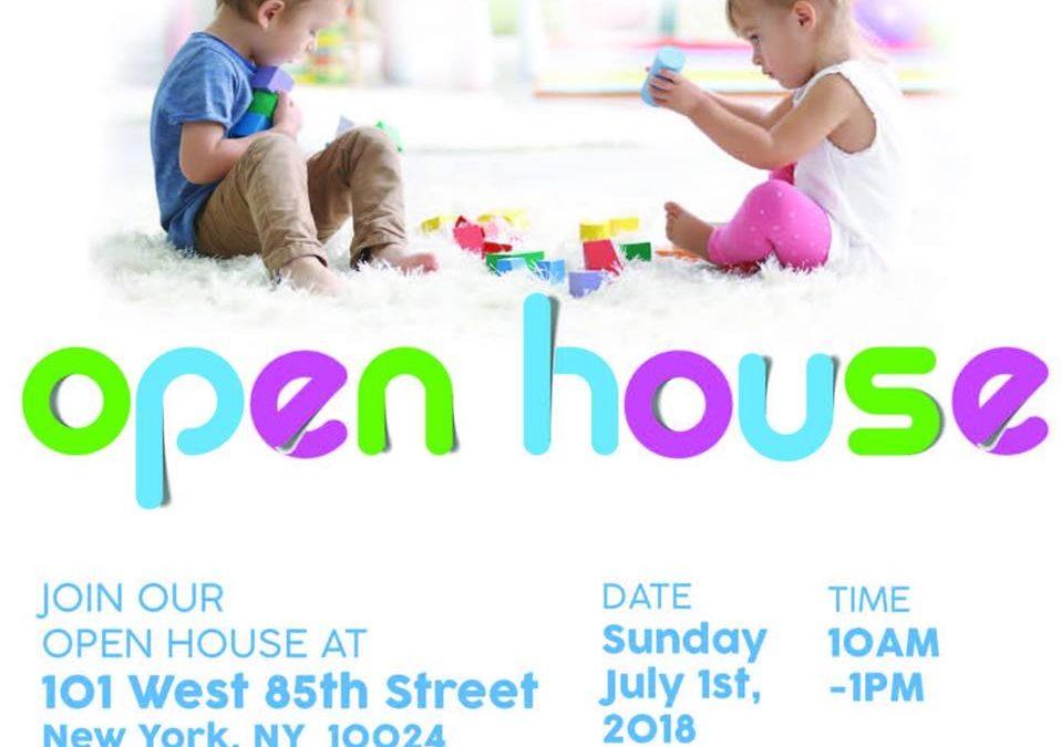 Upper West Side Open House July 1