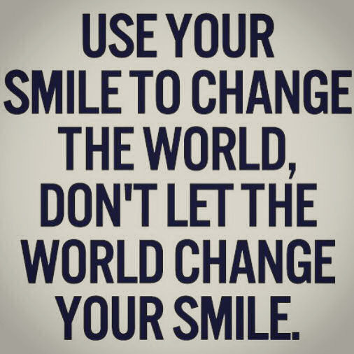 Inspirational Quotes For Kids -Use Your Smile To Change The ...