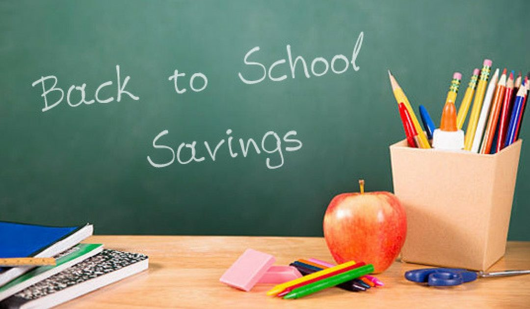 Back-To-School Savings Tips