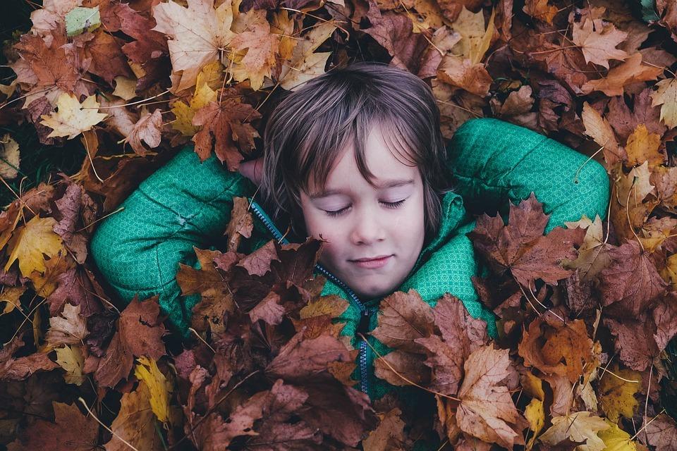 child leaves